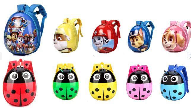 Детский рюкзак-игрушка с мультяшным принтом.Отлично для подарка!