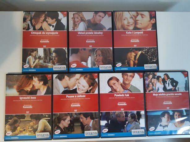 Filmy na DVD. Romantyczne komedie.