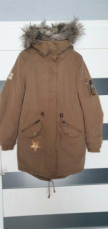 Kurtka zimowa, płaszczyk H&M 34