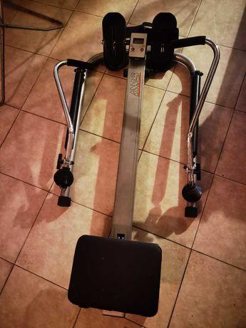 Máquina remo fitness