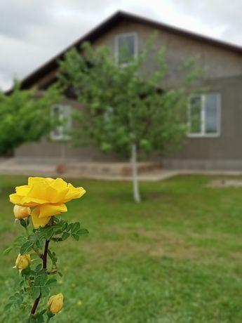 Продам новый дом из газобетона,готов для проживания,с евроремонтом .