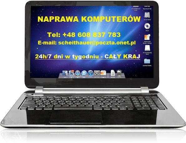 Naprawa Komputerów ~ Pogotowie Komputerowe ~ Serwis Laptopów 24h/7