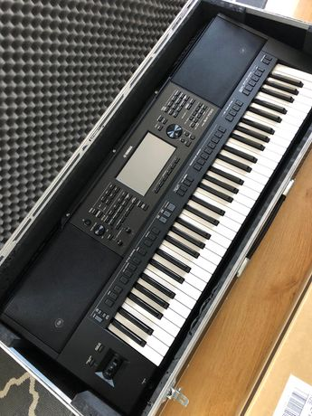 Yamaha PSR SX 700 Twardy Case + pulpit + zasilacz