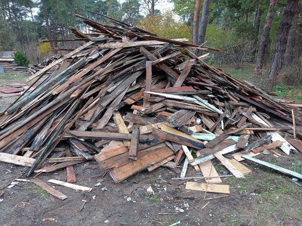 Oddam drewno z rozbiórki
