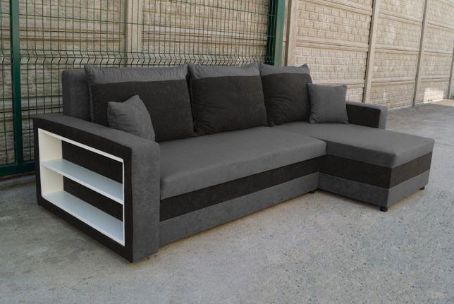 Narożnik Stella Kanapa Sofa rogówka z funkcją spania