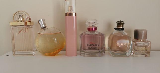 Perfumes vários: Hermès, Guerlain, Hugo Boss, Chloé, Burberry, Lanvin