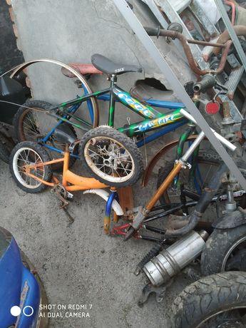 Продам велосипедные рамы детский велосипед двух спортивных велосипедов
