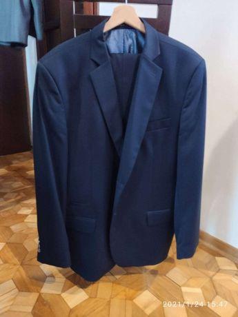Męski garnitur spodnie, marynarka niezniszczony 182/58 SLIM