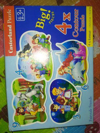 Puzzle dla dzieci 3+