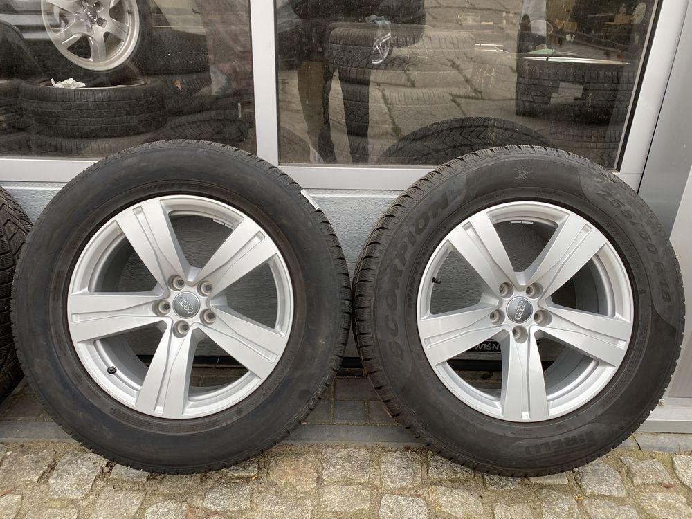 Alufelgi koła aluminiowe AUDI Q3 Q7 Q5 + opony 255/60r18!!!