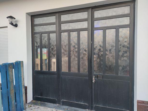 Portas de garagem alumínio