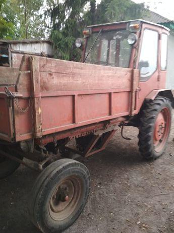 Трактор Т16 с прицепом