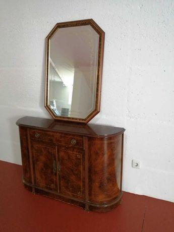 Cómoda, aparador, consola vintage rustico com espelho