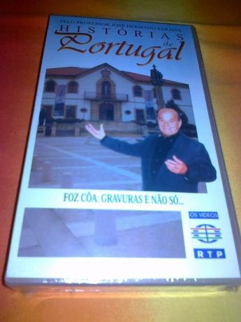 Hist. de Portugal- 15 Cassetes VHS