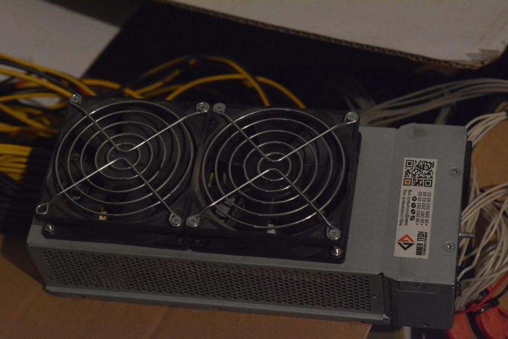Ферма GPU В составе: Блок питания Delta Electronics DPS-2000BB 80PLUS Ромны - изображение 1