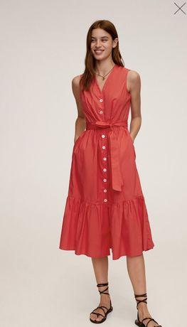 Летнее платье сарафан Mango