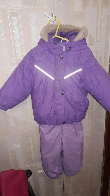 Зимний раздельный комбинезон lenne,полукомбинезон и куртка+ подарок