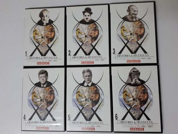 História do Sec. XX 6 DVD's