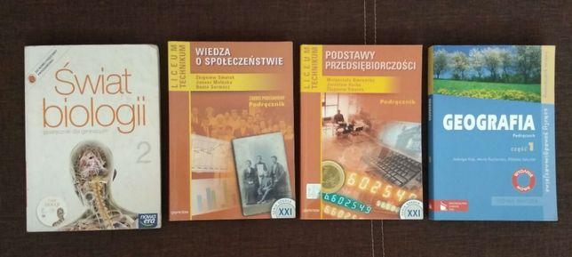 Podręczniki WOS+Biol+Geo+PP