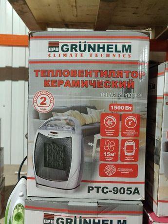 Тепловентилятор керамічний PTC-905A (750/1500Вт, 220В)
