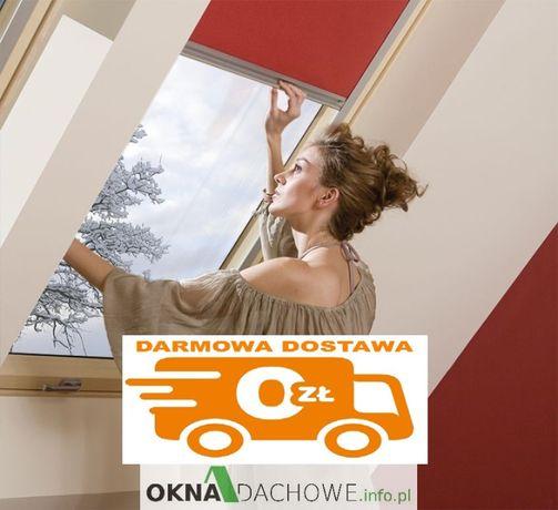 Roleta do okno dachowe zaciemniająca ORF Fakro Optilight 78x118 ARF