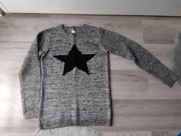 Sweter tunika dziecięca C&A