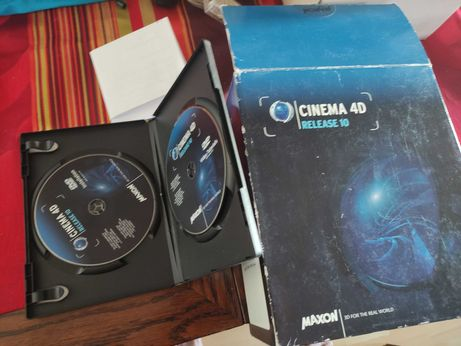 CINEMA 4D R10 MAXON Licencja Full MAC Final
