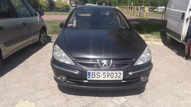 Peugeot 607 benzyna +lpg