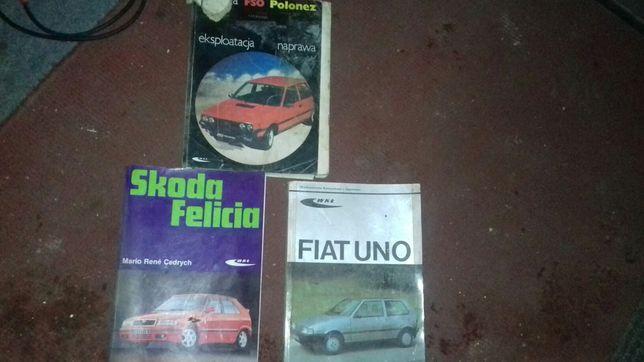 kolekcja książek książki książka polonez skoda uno hobby kolekcjonersk