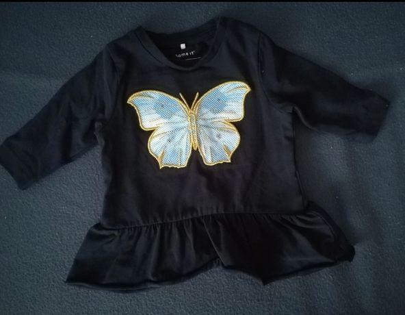 Bluzka tunika motylek rozm 56