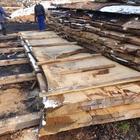 Blaty drewniane monolit szerokie suche sezonowane mokre dąb orzech