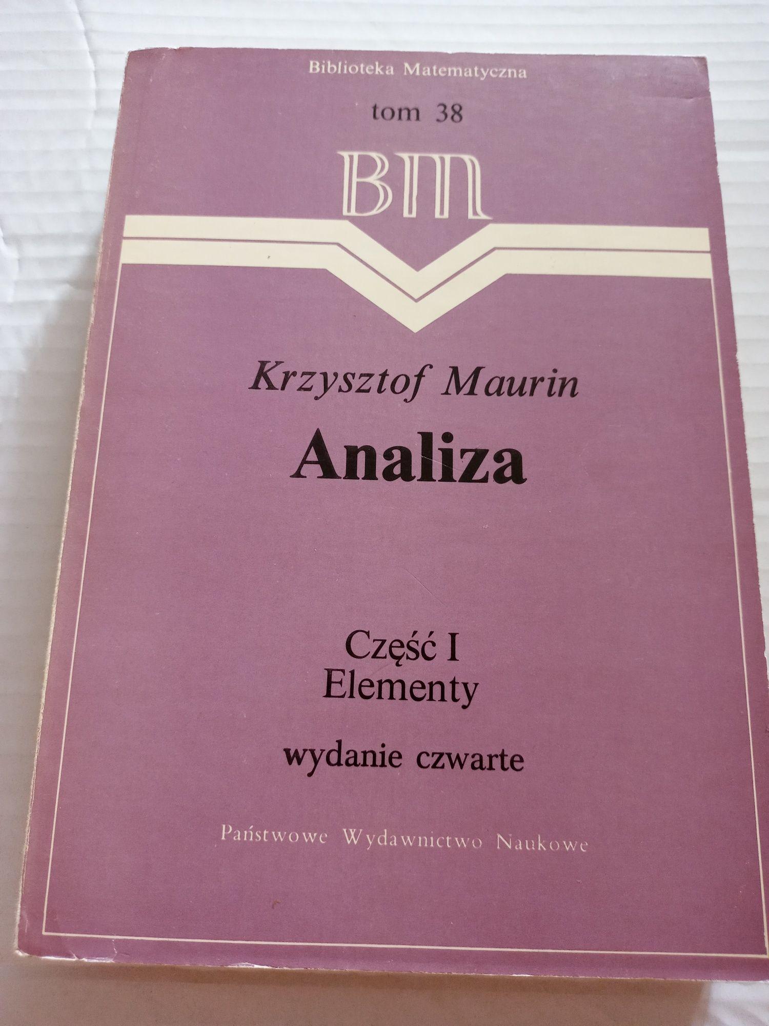 Krzysztof Maurin  Analiza