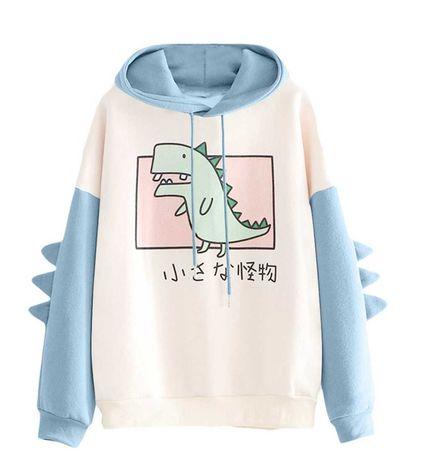 Anime nowa bluza kawaii r XL pastel