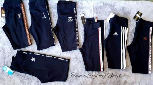 PREMIUM Leginsy Guess Nike Adidas CK Tommy S M L XL tanio OKAZJA