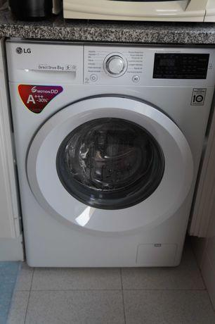 Máquina de Lavar Roupa LG Direct Drive (2018) - 8Kg