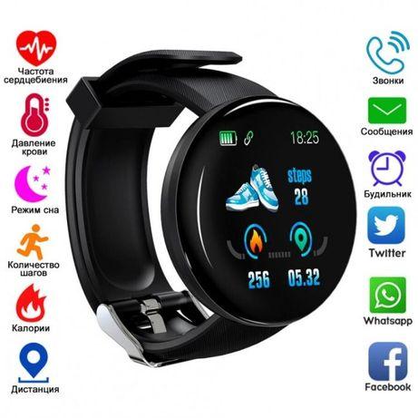 Фитнес браслет Smart Watch 29 black смарт часы, шагомер, пульс, давлен