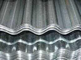 Chapa zinco ondulada zincada