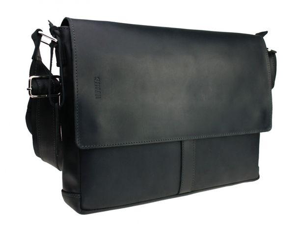 Кожаная мужская сумка А4 для ноутбука ручная работа Sullivan