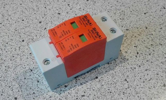 Ochronnik ogranicznik przepięć DC 500V 660V 1000V zabezpiecz falownika