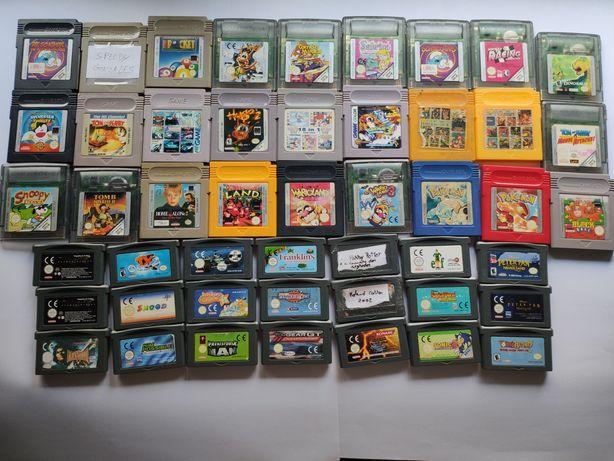 Jogos para gameboy color e game boy advance da Nintendo (pokemon,etc)