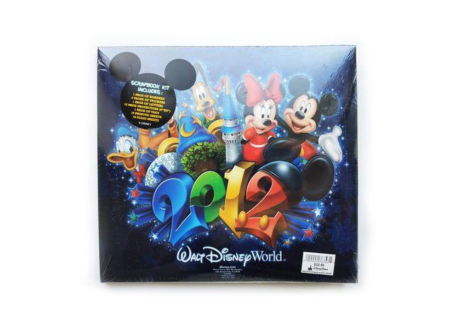 Scrapbook Скрапбук скрапбукинг альбом Walt Disney World 2012