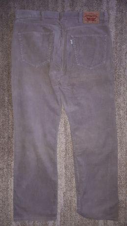 Spodnie sztruksowe Levi's 401, rozmiar 38x32