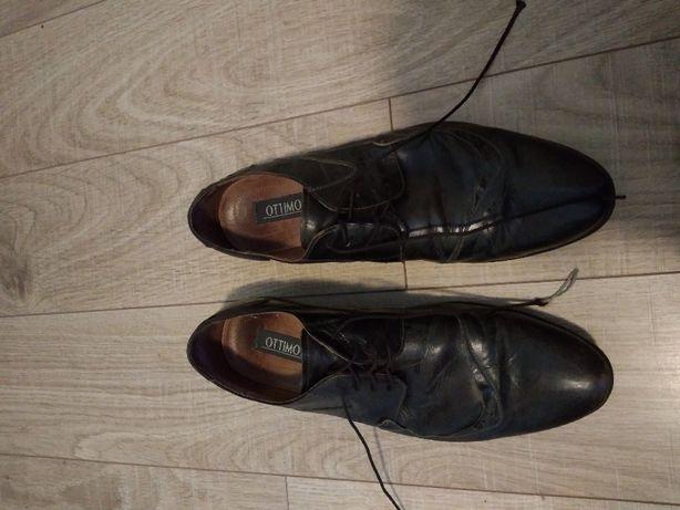 Ottomi buty męskie skóra naturalne 43