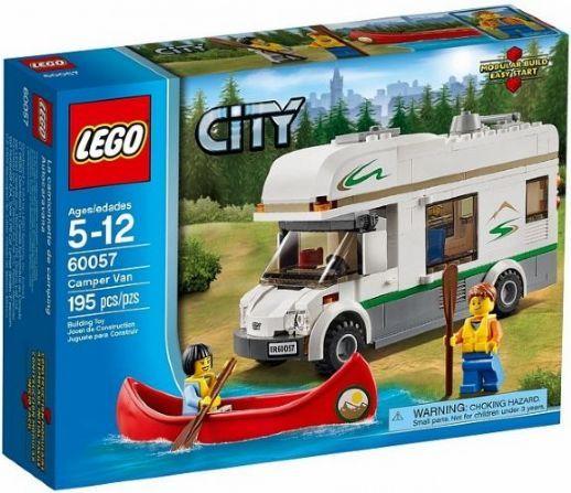 Lego da Série City - 60057 - Camper Van (completo!)