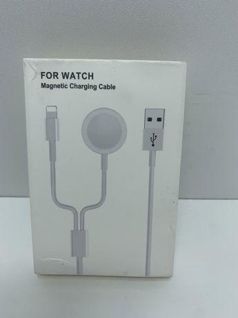 Зарядной Кабель для Apple Watch Magnetic with Lightning Charging Cable