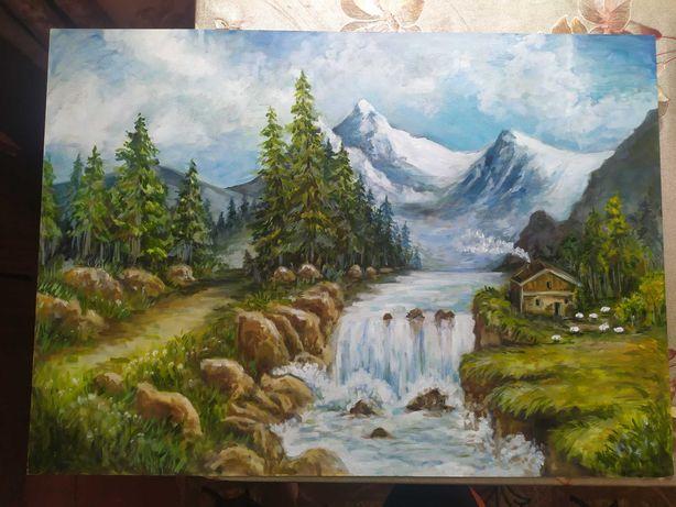 Картина  , пейзаж (Олією)