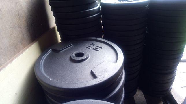 Obciążenie żeliwne Nowe fi 31 2x10 kg z wysyłką olx