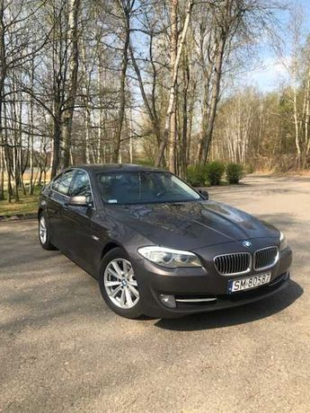 BMW 520d F 11 Limuzyna, 1 właściciel, 100% bez wypadkowa Salon Polska