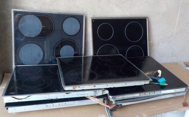 Płyty ceramiczne/indukcyjne, używane