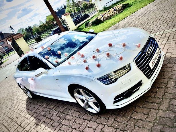 Limuzyna Samochód Auto Audi A7 do ślubu